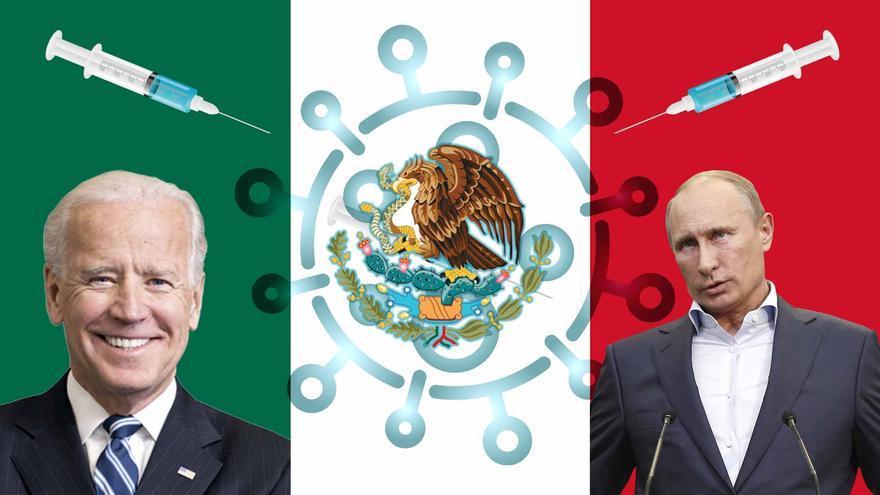 La guerra de las vacunas entre EEUU y Rusia se fija en México