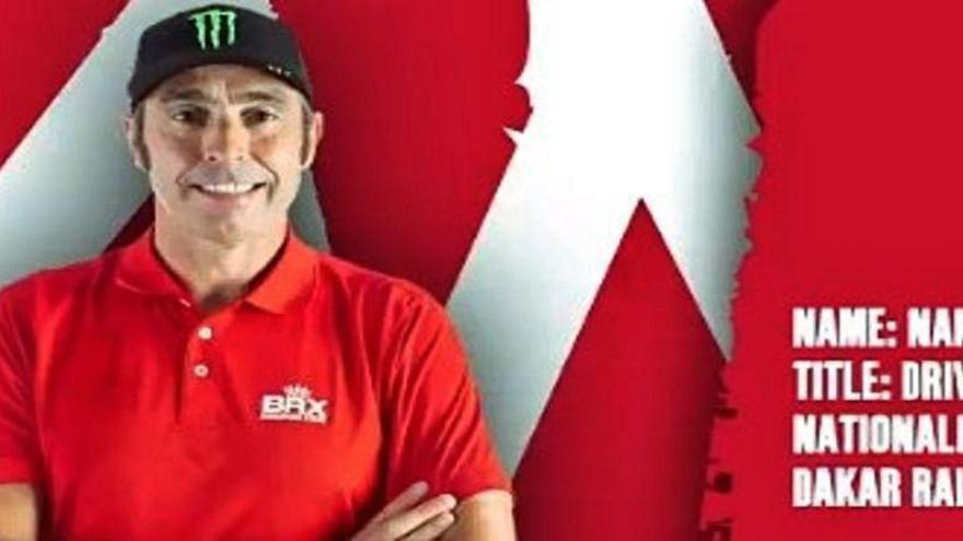 Nani Roma competirá con el equipo Bahrain Raid Xtreme