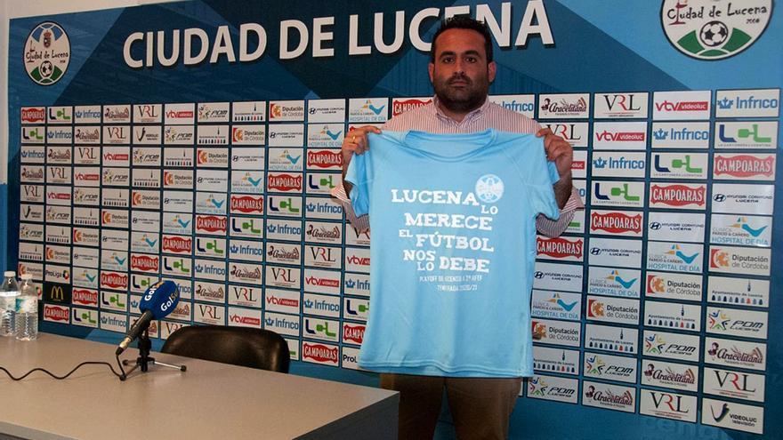 "Jorge Torres: ""Lucena siempre responde a los retos"""