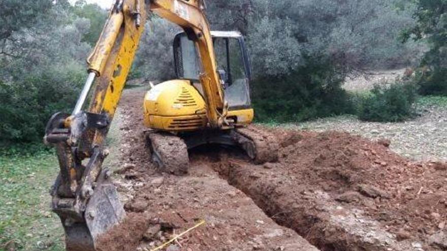 Inselrat stoppt Bauarbeiten in Estellencs