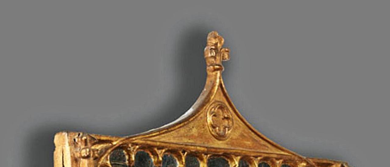 «Misa de San Gregorio», pieza atribuida al Maestro de Xàtiva. | HAMPEL