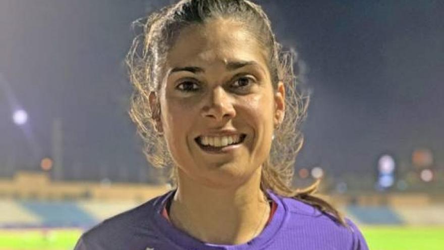 La valenciana Miriam Martínez gana la medalla de plata en el peso F36
