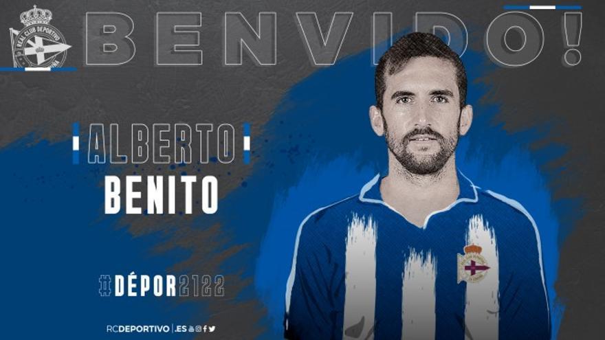 Alberto Benito, ex del Albacete, refuerza el lateral derecho del Deportivo