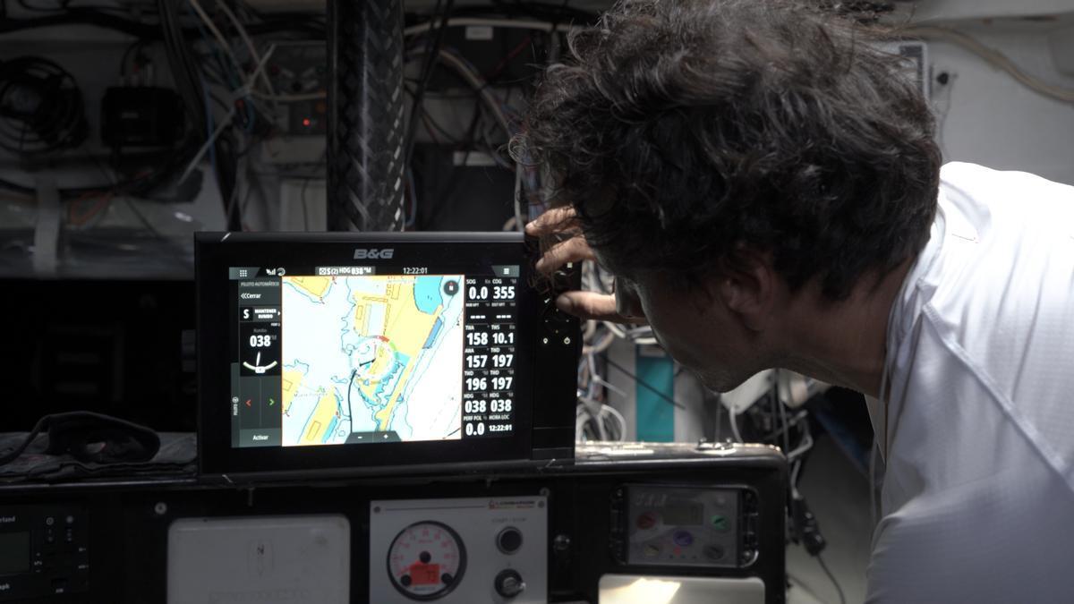 Imagen de una de las aplicaciones de los productos electrónicos que desarrolla Navico para el sector marítimo.