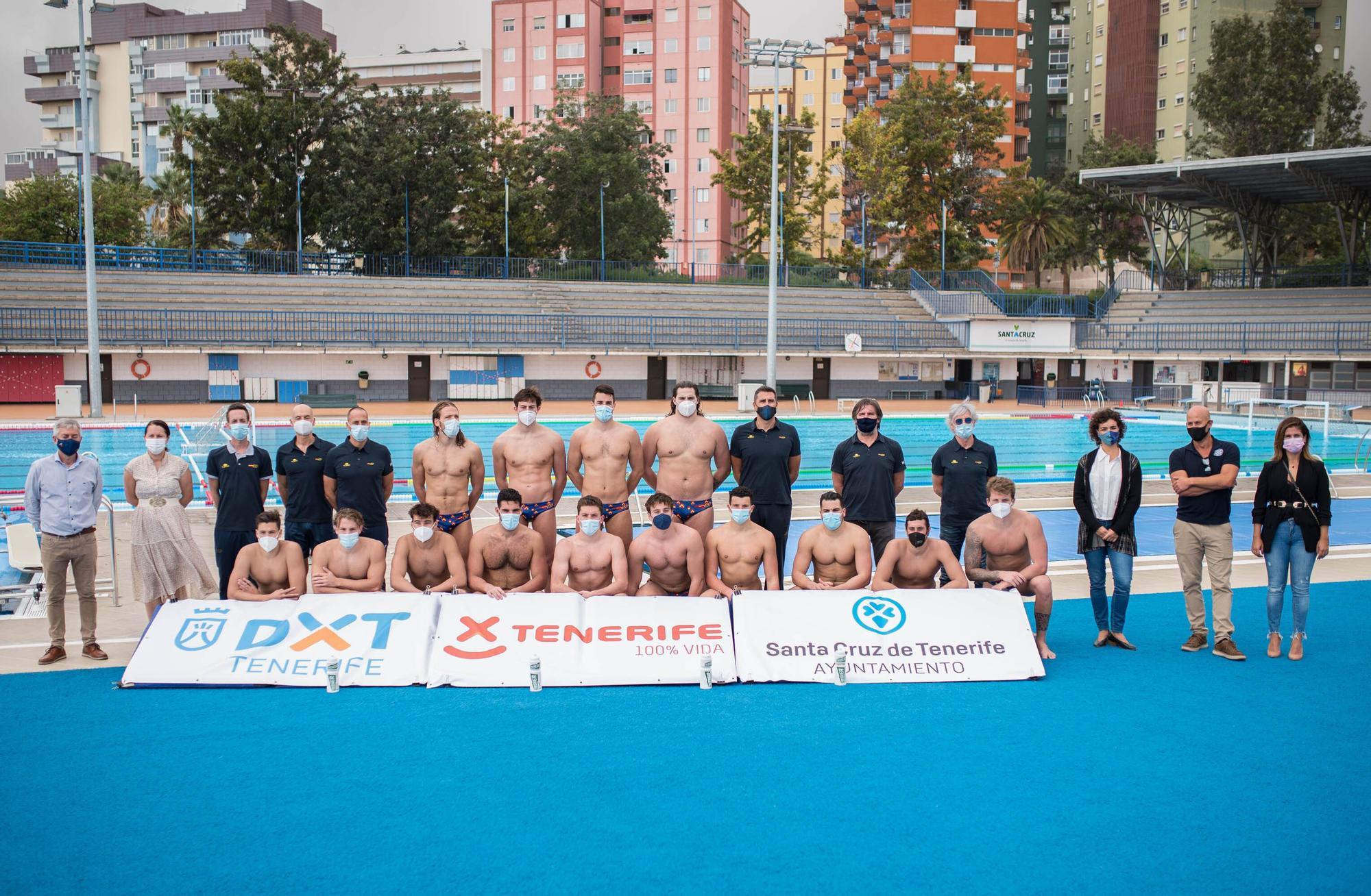 La Selección Española Masculina de Waterpolo se entrena en Tenerife