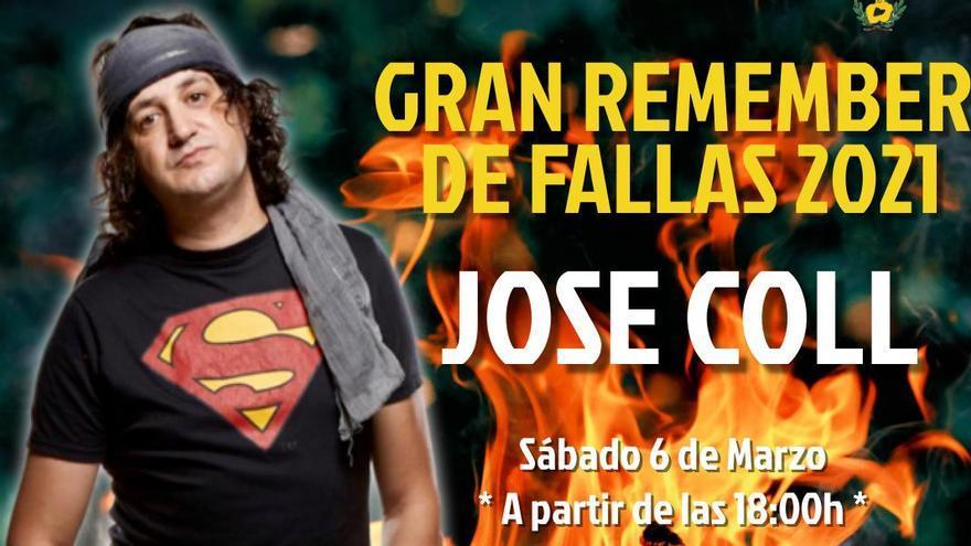 José Coll y la falla Rubén Vela recuperan el Remember The Fallas