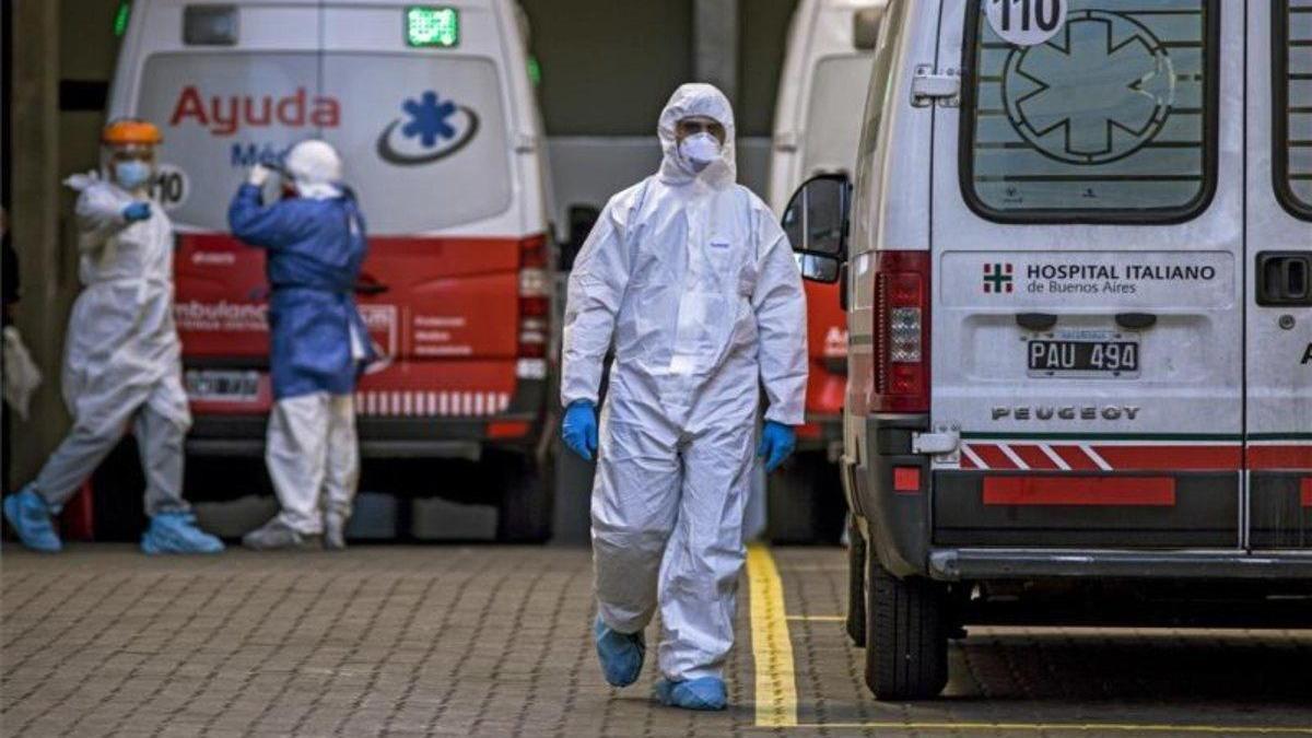 Argentina rebasa los 400.000 casos de coronavirus