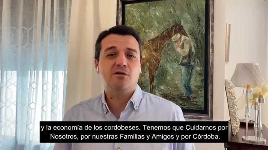 """El alcalde de Córdoba alerta: """"Si seguimos así podríamos llegar en pocos días a 1.000 contagios por cien mil habitantes"""""""