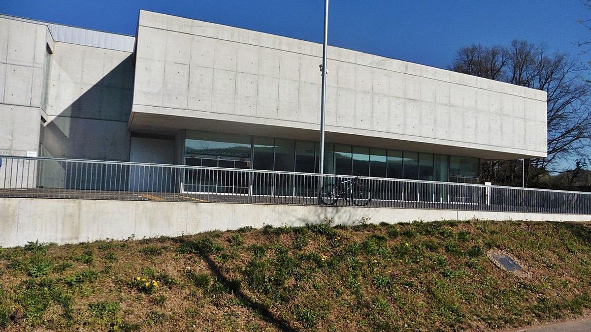 L'hospital d'Olot en una imatge d'arxiu. | FHOCG