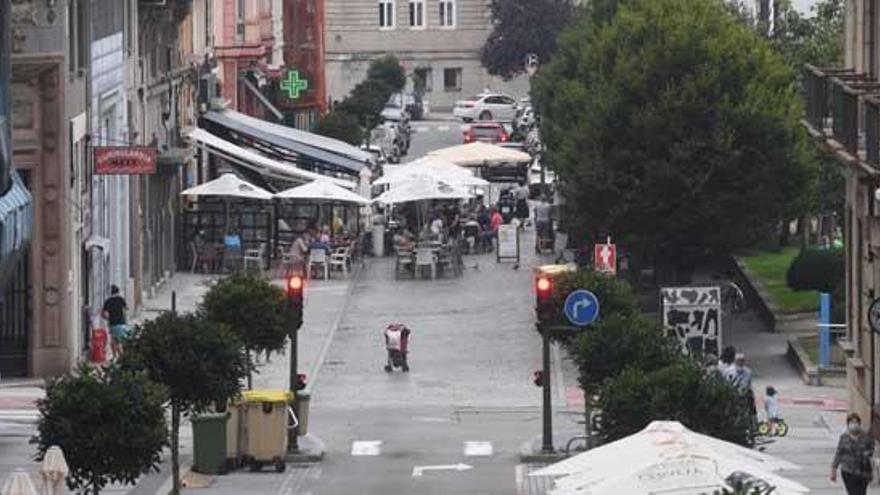 El Concello sopesa prorrogar el plazo para ampliar las terrazas