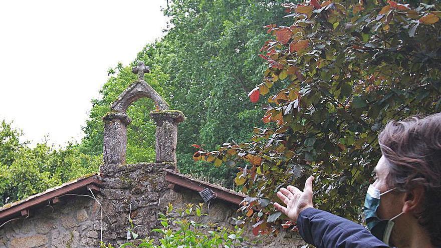 Los vecinos denuncian el robo de la campana de la capilla de Portovello, del siglo XIV