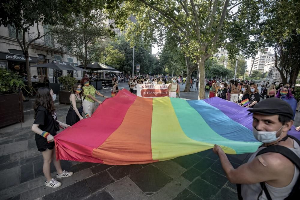 Gay Pride in Palma de Mallorca (28.6.2021)