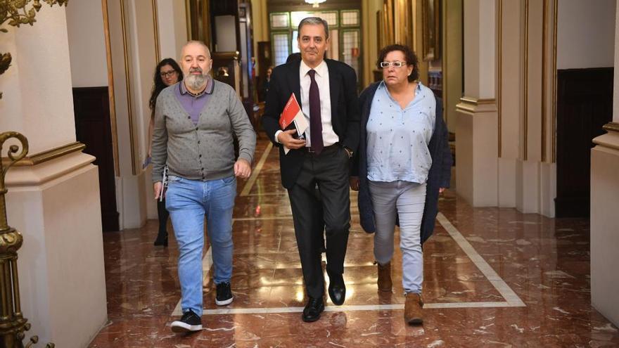 Los socialistas tendrán su cuarto portavoz del mandato tras la dimisión de García