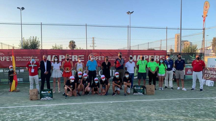Olga Parres se lleva el Torneo WTA Ciudad de Don Benito