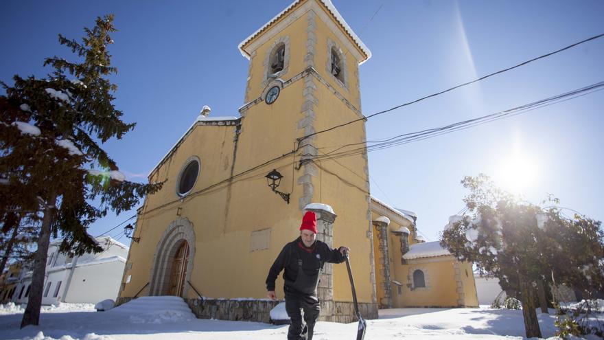 Las 18 parcelas que la Iglesia tiene en Benagéber fueron una donación de principios del siglo XX