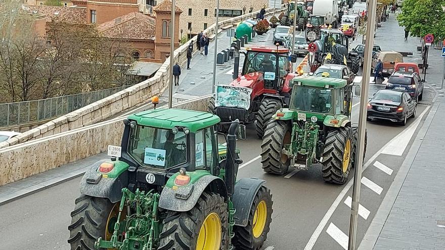Los tractores llegan a Teruel