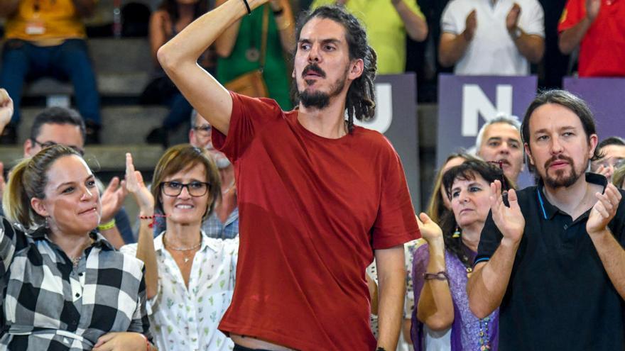 Noemí Santana, Alberto Rodríguez y Meri Pita entran en el Consejo Ciudadano Estatal de Podemos