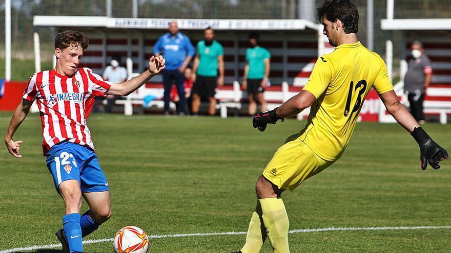 El Sporting B se da un festín: goleada y partidazo de Oyón