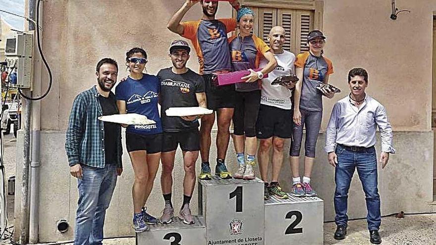 Gerard Marcé y Joana Maria Cañellas ganan la Pujada 3 Pins de Lloseta