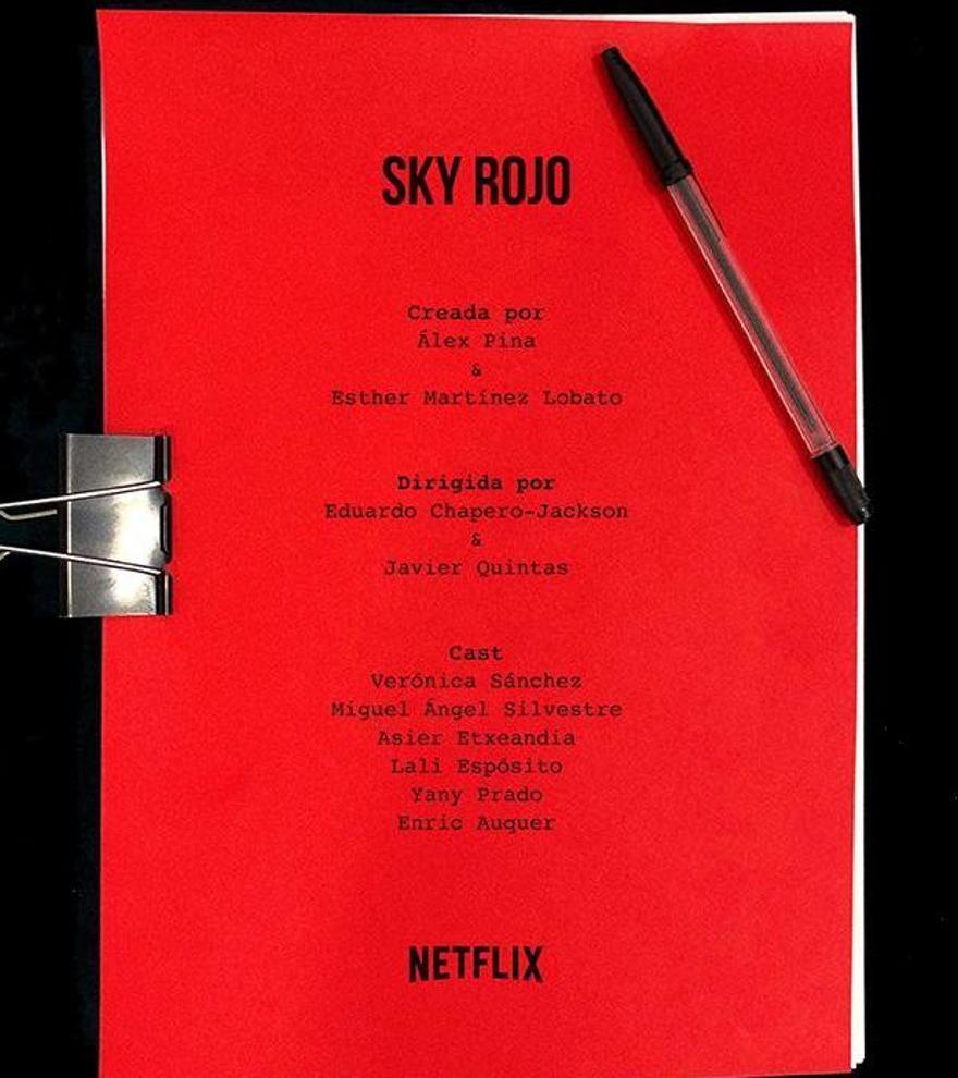 'Sky Rojo', la apuesta por el humor negro de los creadores de 'La casa de papel'
