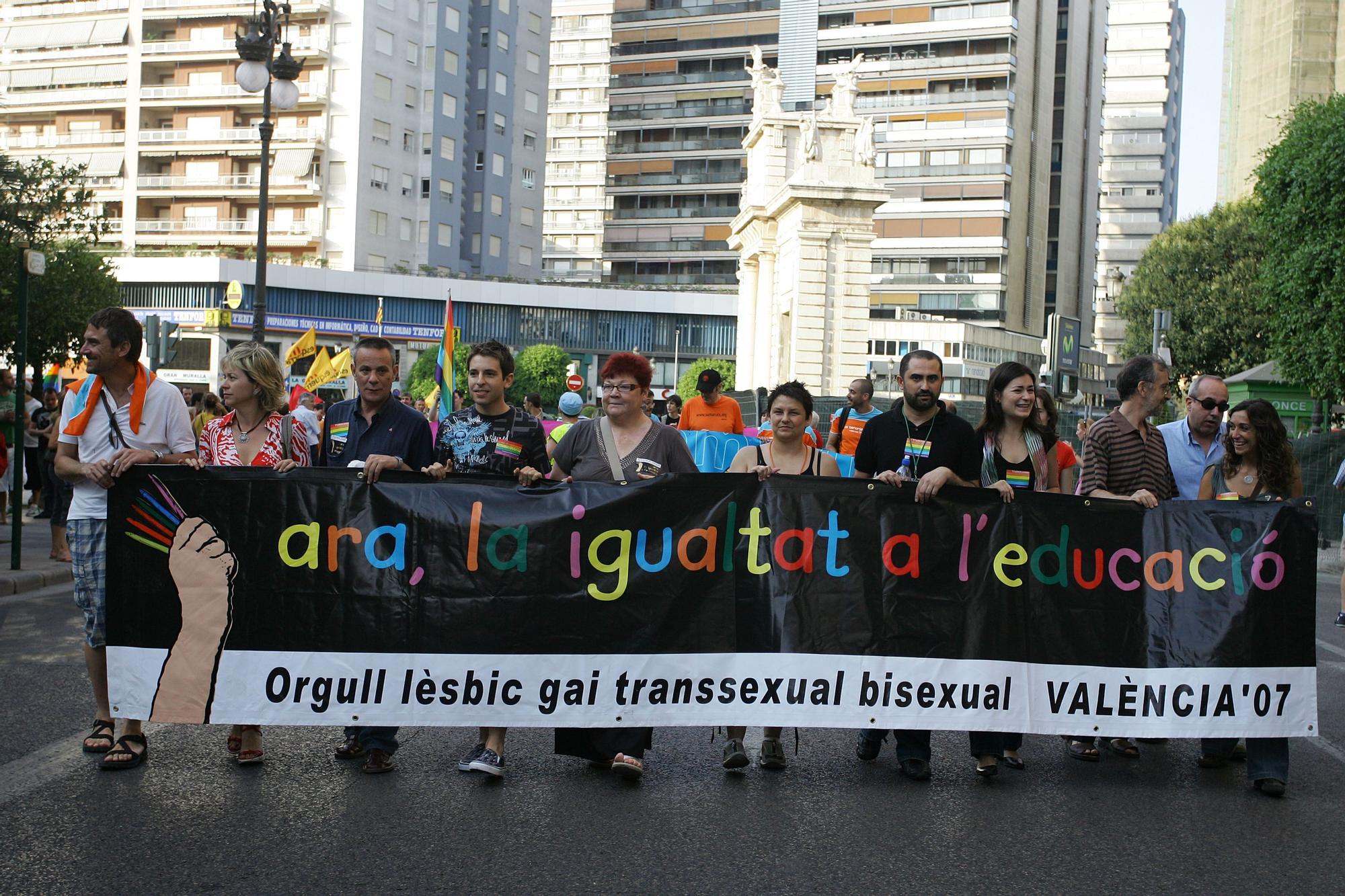 Fotografías de 2007, Orgullo LGTBI València