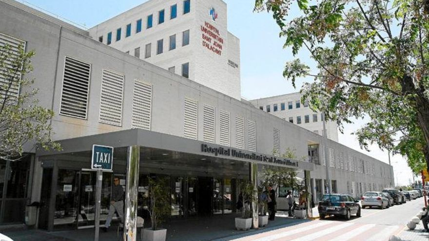 """El Campello insta al Consell a declarar """"estratégica"""" la obra del Hospital de Sant Joan para agilizar su reforma"""