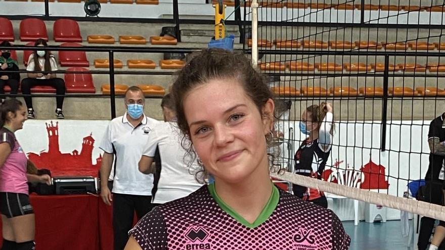 Annita del Nero, muy feliz tras su debut con la camiseta del Arroyo