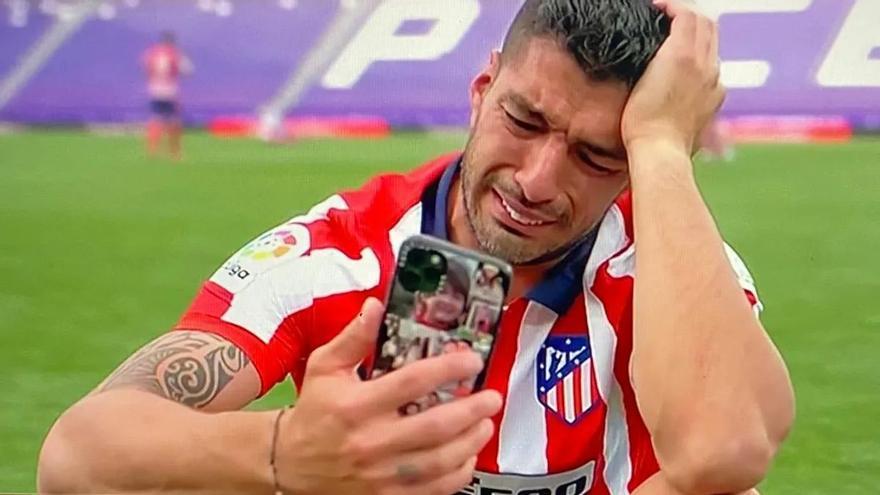 """Luis Suárez, entre lágrimas: """"Me menospreciaron, y el Atlético me abrió las puertas"""""""