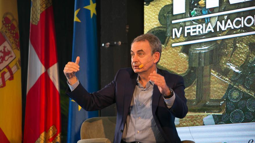 Zapatero apuesta en Soria por la inmigración y aboga por mancomunar municipios