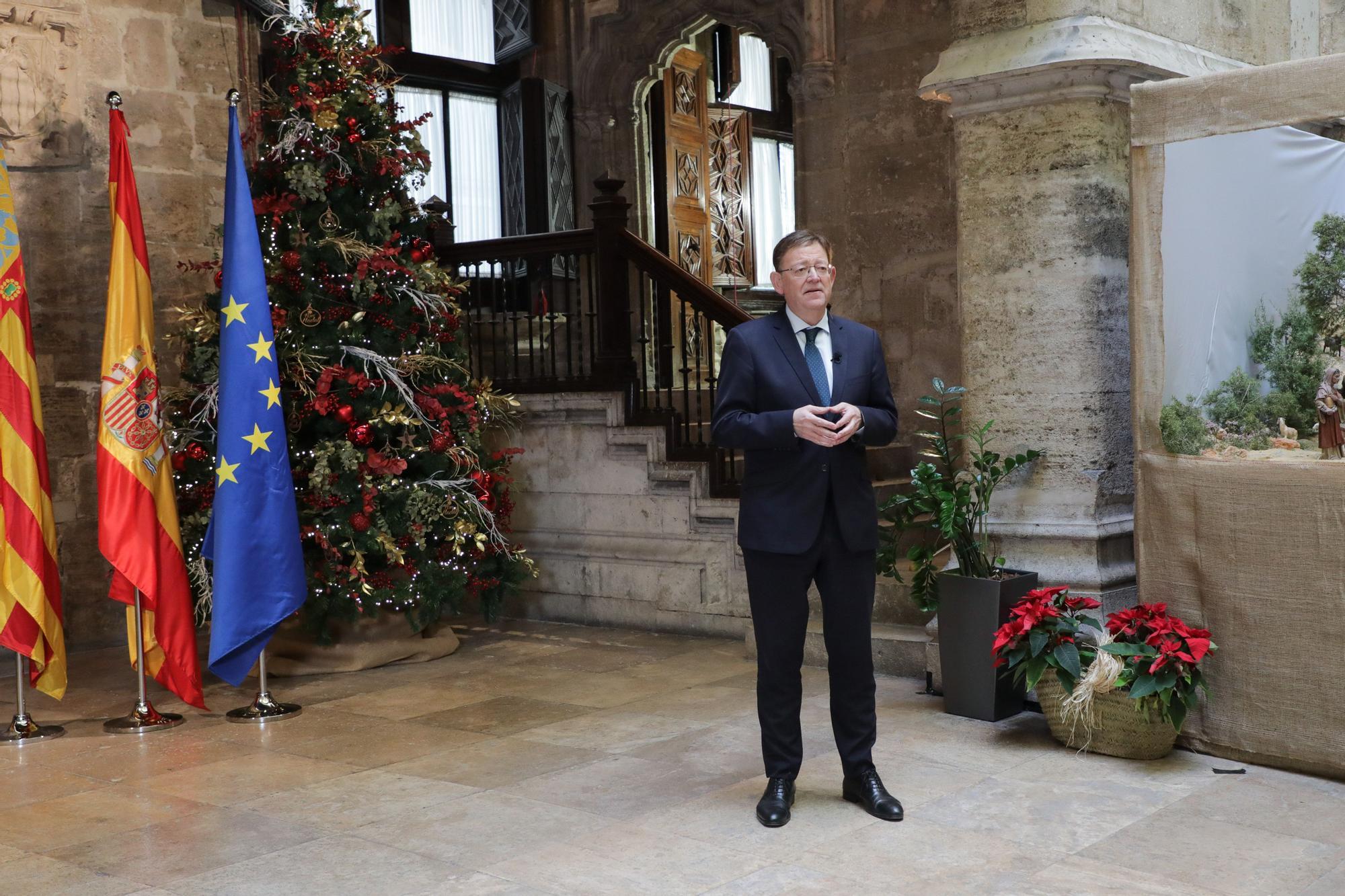 Ximo Puig: «Es preferible dejar una silla vacía esta Navidad a dejarla vacía para siempre»