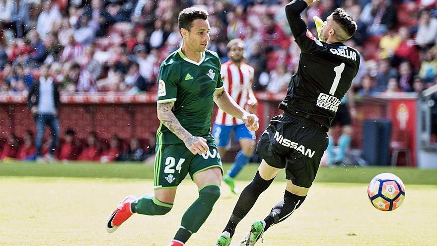 Rubén Castro, la eterna amenaza canaria para el Sporting