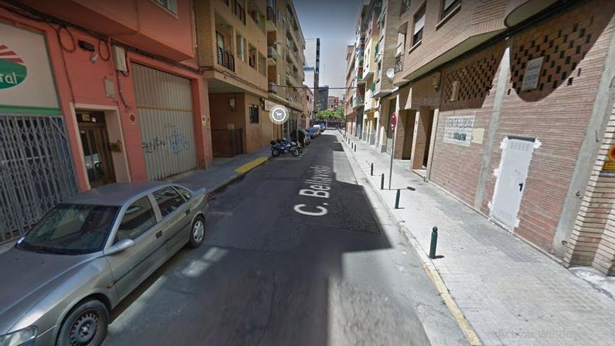 La calle Bellavista en el barrio de San José de Zaragoza se corta mañana al tráfico un mes para renovar el colector