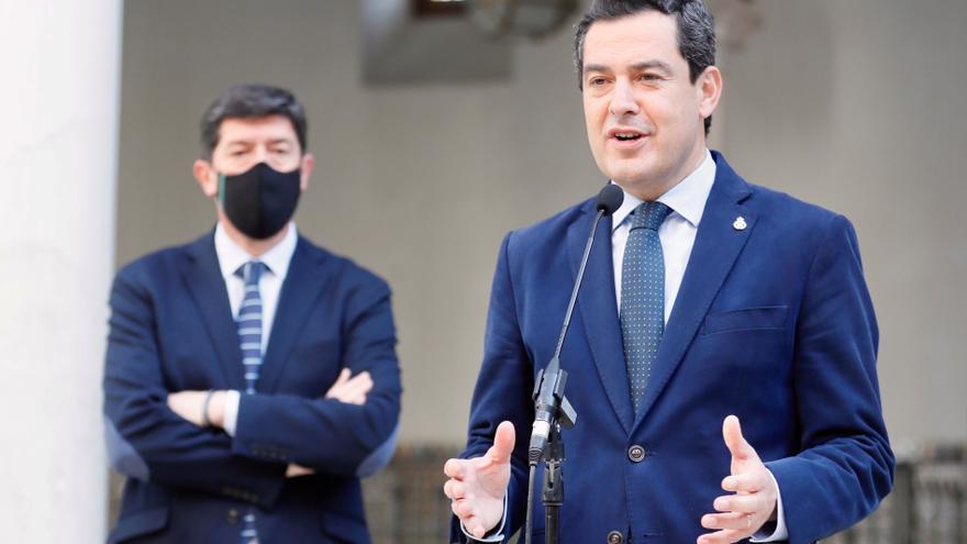 """Juanma Moreno descarta un adelanto electoral porque """"el de Andalucía es un Gobierno sólido"""""""