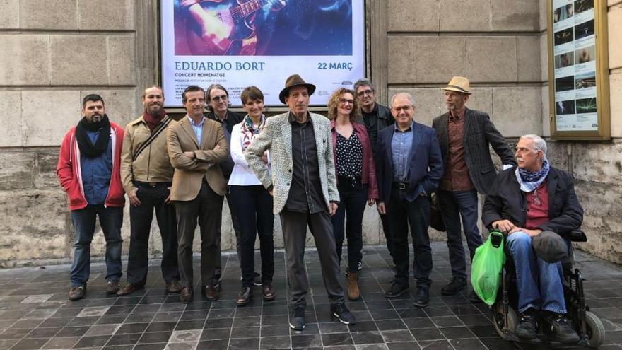 El Principal acollirà el concert homenatge a Eduardo Bort