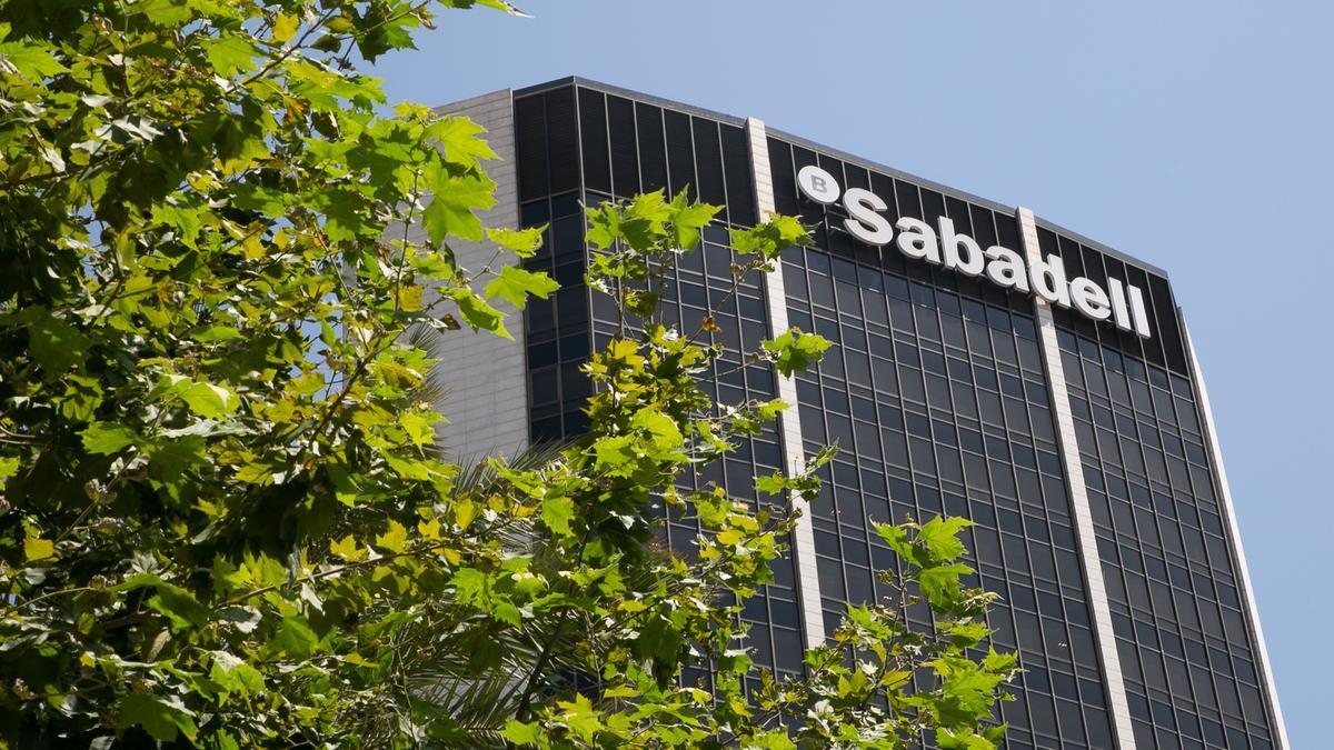 Una sede del Banco Sabadell.