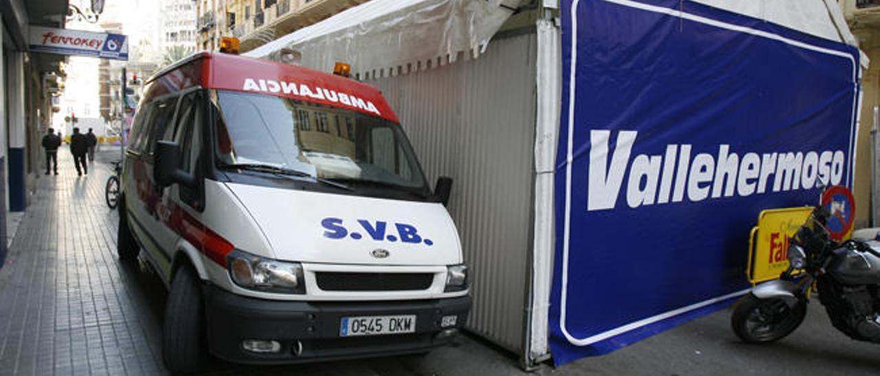 El Consell vuelve a dejar sin plano de las calles cortadas a las ambulancias