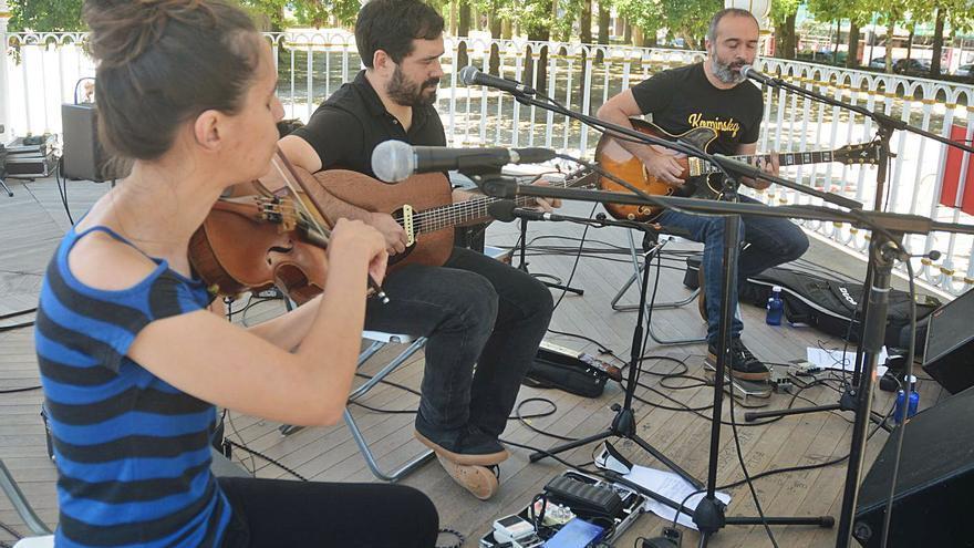 El festival Galegote Rock recupera la música en las calles