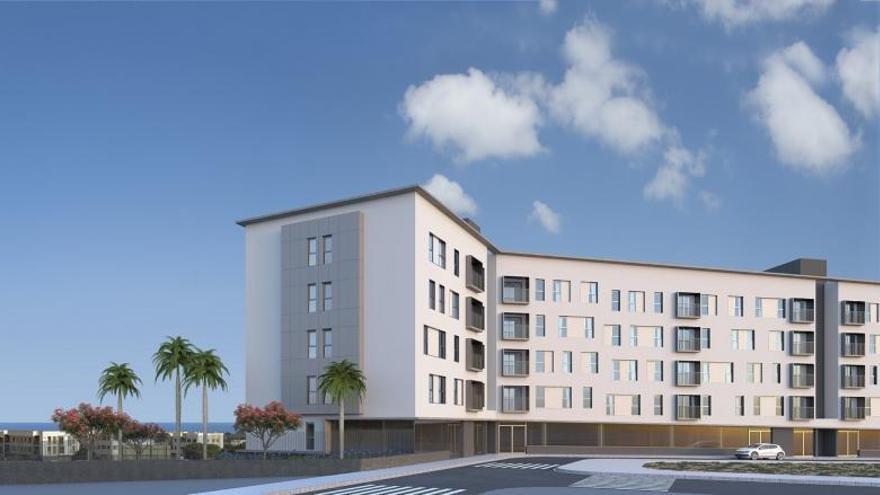 Comienzan las obras del primer edificio residencial del área de Arauz