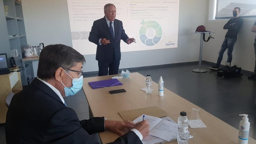 Iberfoil consolida la industria del aluminio en Sabiñanigo en plena crisis del sector