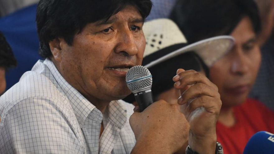Evo Morales promet vacunes gratis contra el coronavirus si el seu partit guanya les eleccions