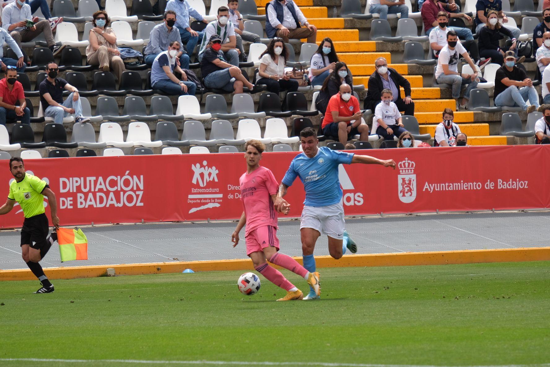 Partido UD Ibiza - Real Madrid-Castilla
