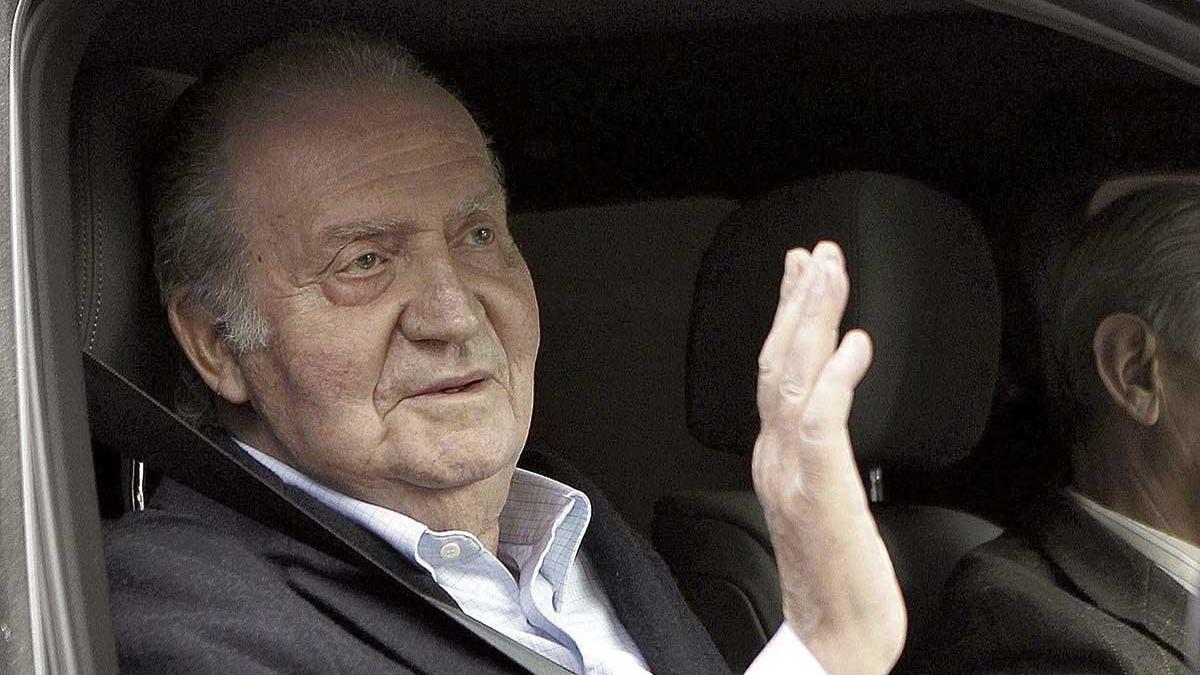 La transición ha saltado por los aires, Juan Carlos I acaba de desmentirla.