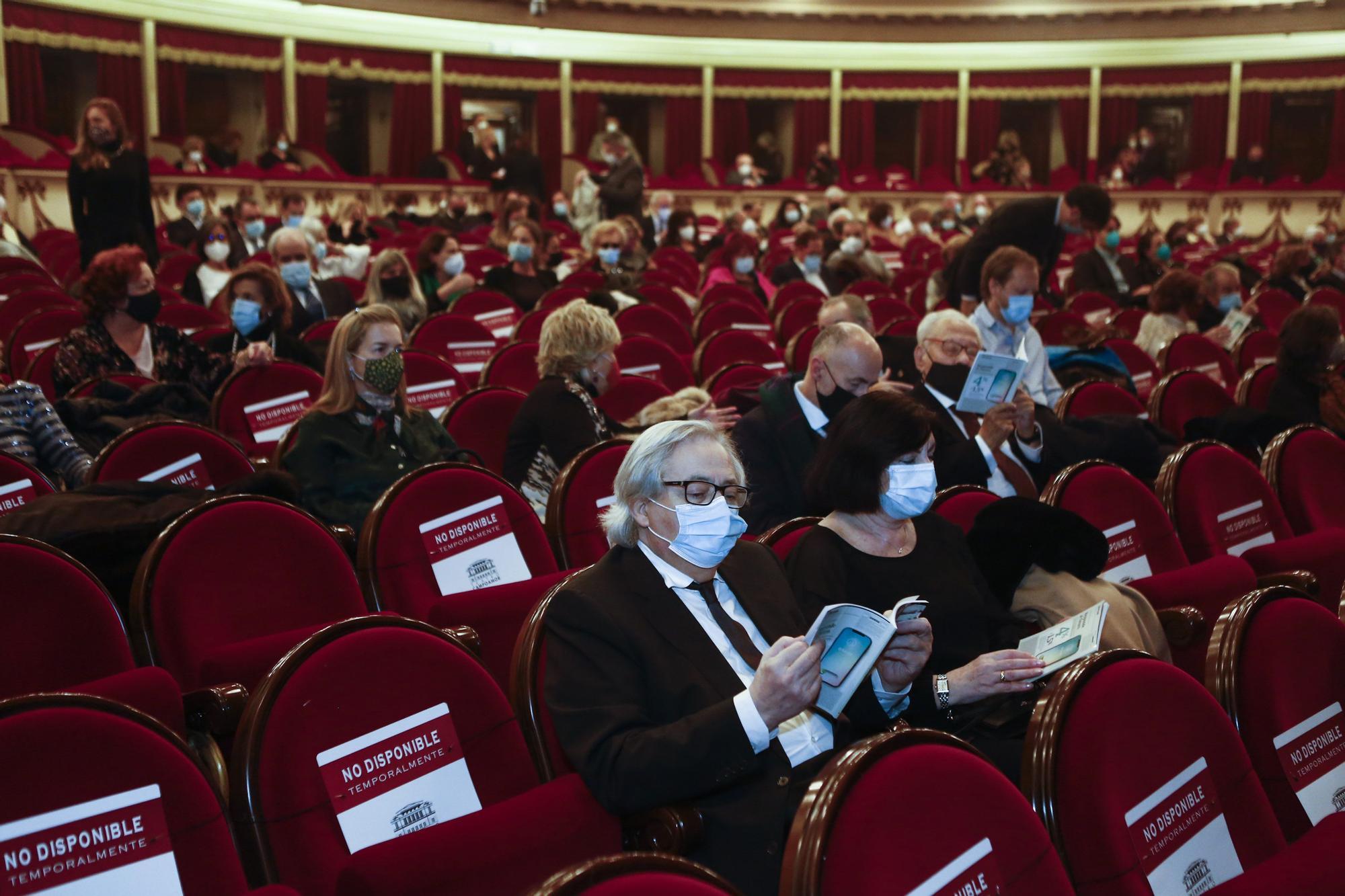 La ópera de Oviedo vuelve a la actividad