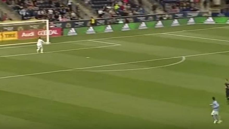 VÍDEO: Mira el golàs de David Villa a la lliga nord-americana