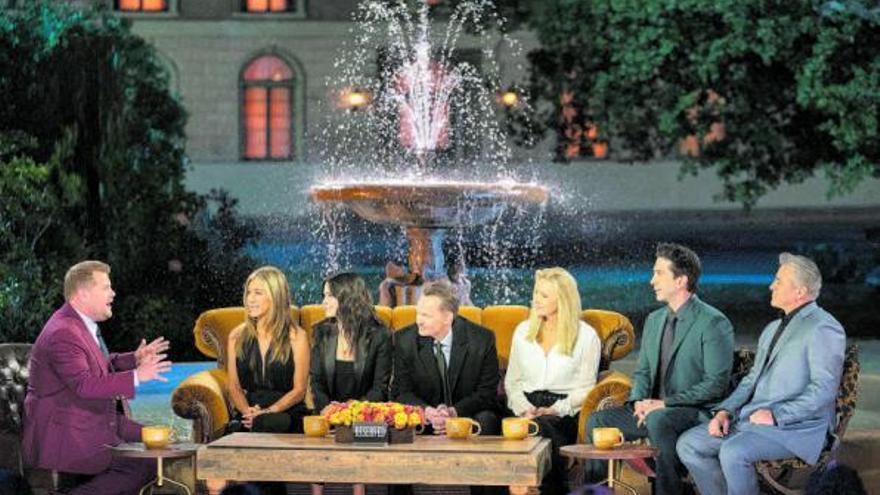 Un festín de lágrimas en la reunión de 'Friends'
