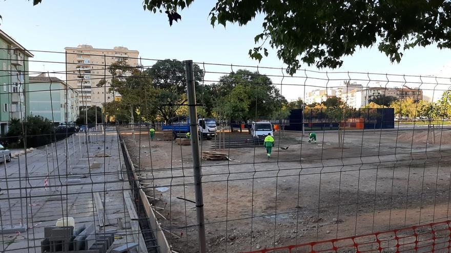 El parque Wifi estará cerrado un mes por las obras de renovación integral