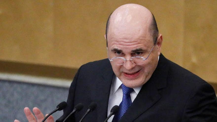 Mishustin, aprobado como nuevo primer ministro ruso