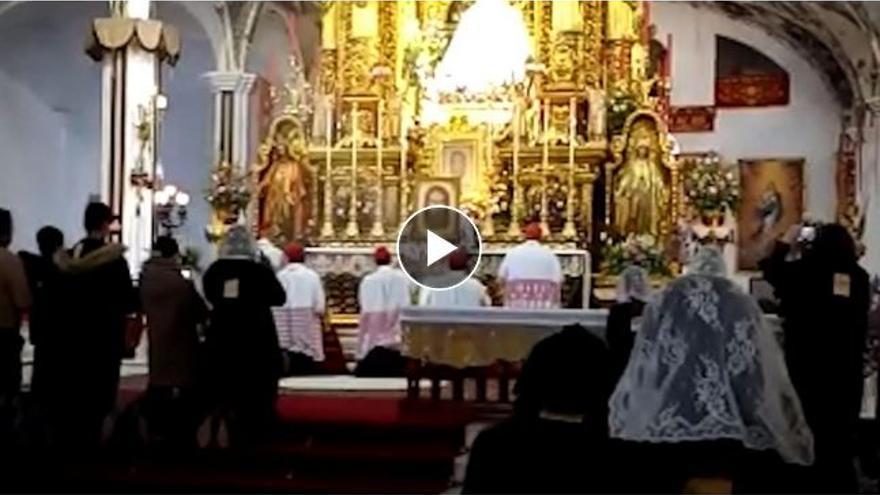 El vídeo de una misa sin control ni mascarillas que desató el covid en una iglesia
