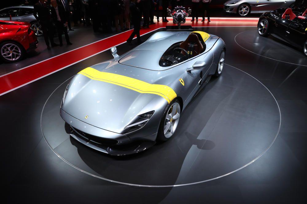 El modelo Ferrari Monza SP1.