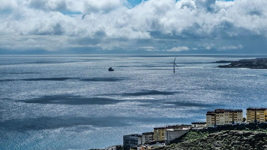 Cielos nubosos este lunes en Canarias, con intervalos en el norte de las islas